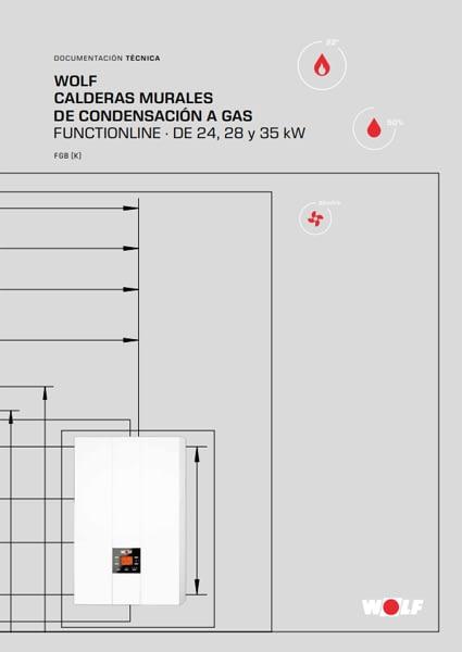 FGB-K CONDENS 24KW - CALDERA A GAS DE CONDENSACIÓN WOLF
