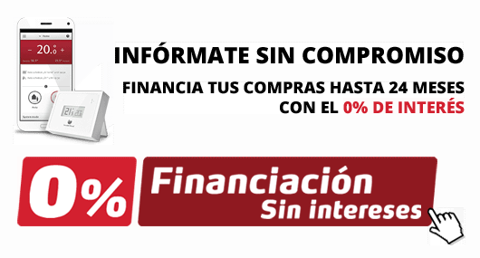 Calderas Palacio Financiación 0% sin intereses