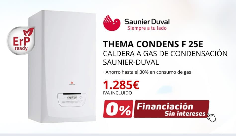 THEMA CONDENS F 25E - CALDERA A GAS DE CONDENSACIÓN SAUNIER-DUVAL