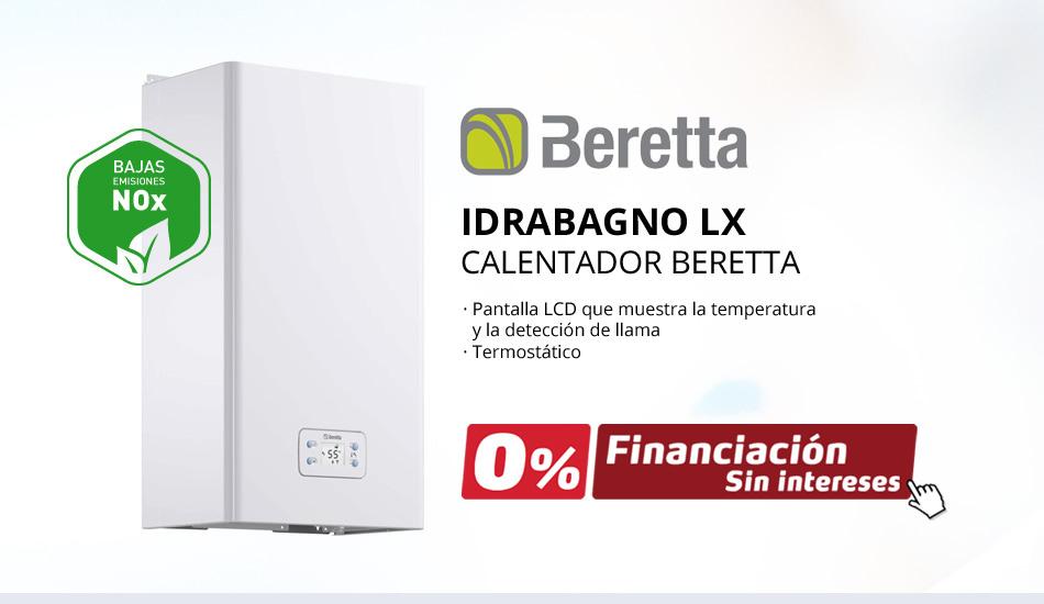 Nuevos Calentadores de Gas Beretta IDRABAGNO LX