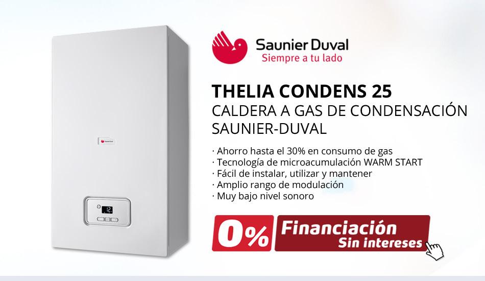 CALDERA SAUNIER-DUVAL THELIA CONDENS 25 - Oferta exclusiva Climma.es