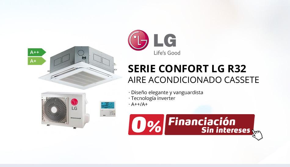 Aire Acondicionado Casette LG Serie Confort