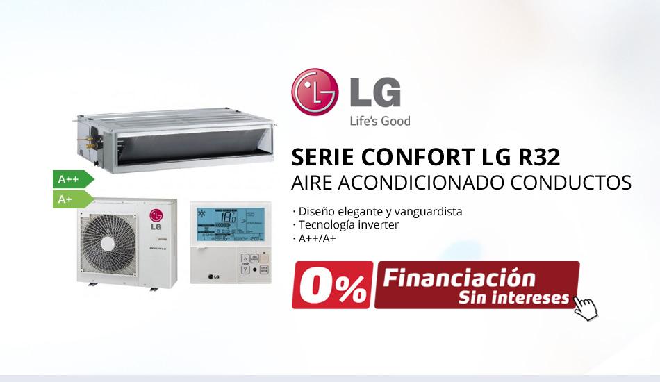 Aire Acondicionado Conductos LG Serie Confort