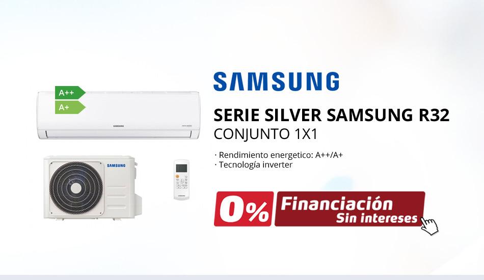 Aire Acondicionado Split Samsung Serie Silver